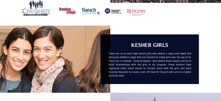 Breakdowns & Totals of KESHER Programs